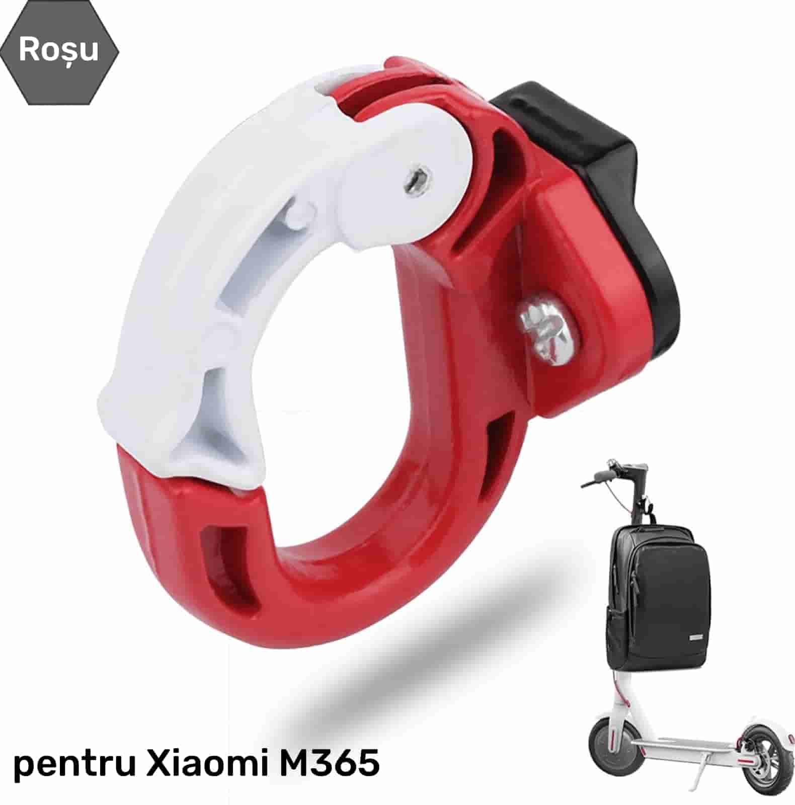 Cârlig frontal tip agățătoare suport trotineta electrică Xiaomi M365 PRO 1