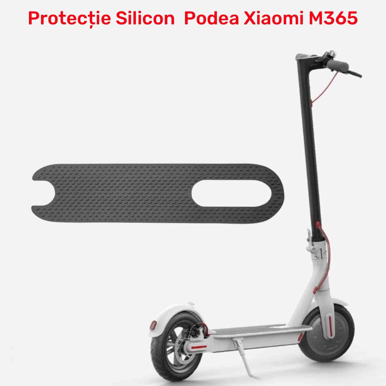 Protecție silicon podea antiderapantă adezivă trotineta electrică Xiaomi M365 PRO 3