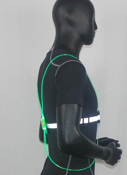 Vestă de siguranță cu lumini LED 13