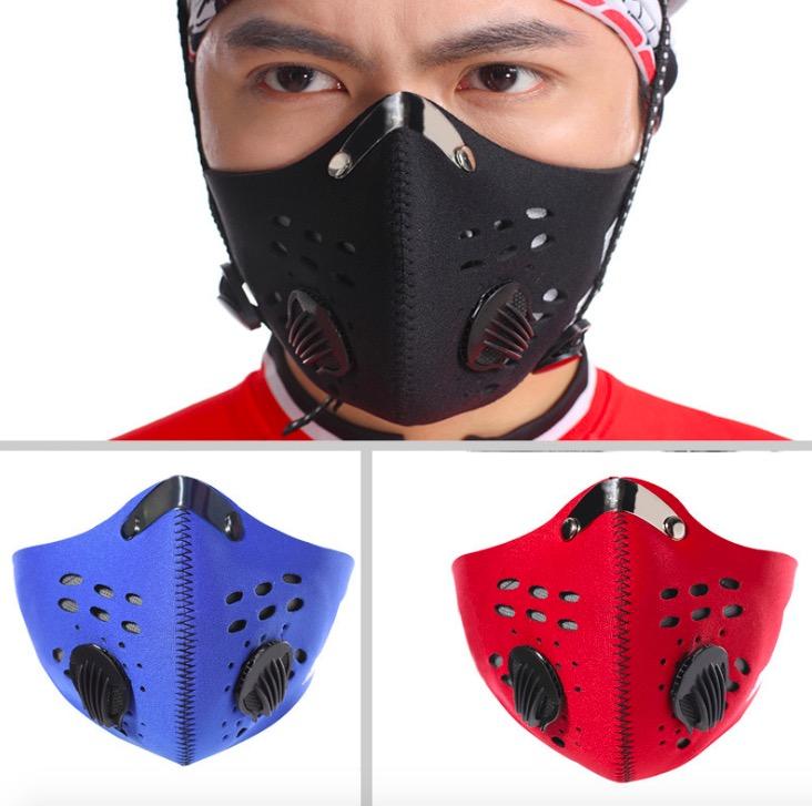 Masca antipoluare cu filtru FFP3