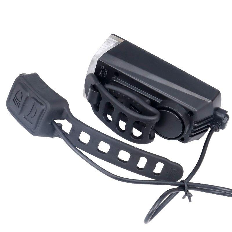 Far cu Claxon USB pentru trotineta electrică sau bicicleta 10